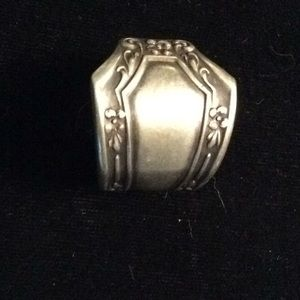Jewelry - Original Art Nouveau Spoon Ring, Sz. 10-1/2